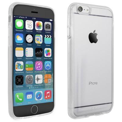 Bumper für Apple iPhone 6 Plus (5,5 Zoll) Case Tasche Hülle Schutz Cover Schutztasche Handyhülle TPU Silikon Acryl Glas klar transparent