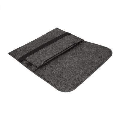 eFabrik Filz Sleeve Hülle Schutz für Sony Xperia Z4 Tablet Tasche (10,1 Zoll) dunkelgrau