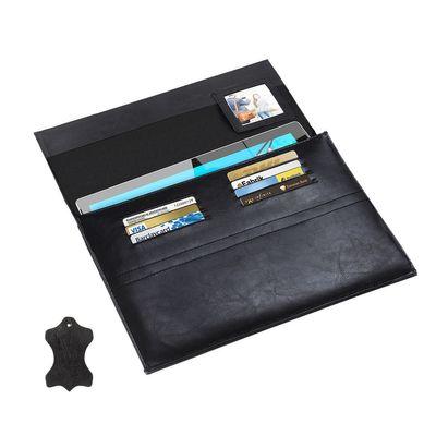 """eFabrik Leder Schutz Tasche für Microsoft Surface 3 (10,8"""") Hülle Case Cover Schutztasche Schutzhülle Zubehör Etui schwarz"""