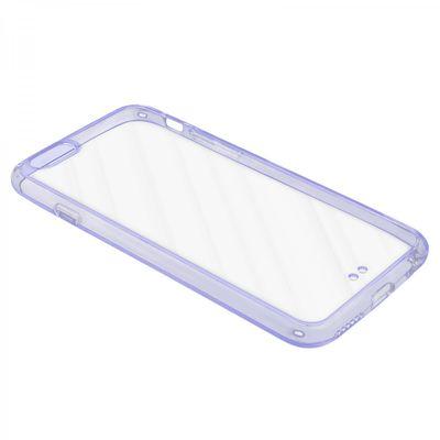 eFabrik Silikon Tasche für Apple iPhone 6S Hülle Lila Schutz Cover Case Smartphone Zubehör TPU-Silikon