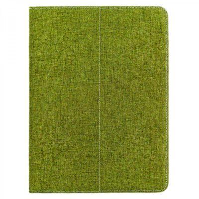eFabrik Tasche für Odys Space 10 / Rapid 10 10.1 Zoll Schutz Hülle Case Cover türkis-grün und grau Leinen