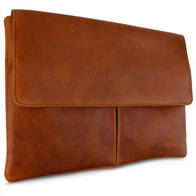 ROYALZ Ledertasche für Apple MacBook Air 11 Notebook (11,6 Zoll) Schutztasche Lederhülle Retro Vintage Look Leder