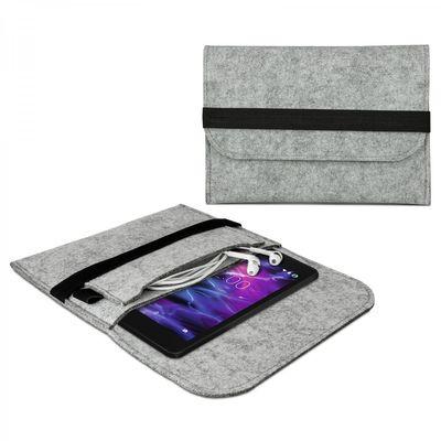"""eFabrik Tasche für Medion E6912 Schutzhülle E-Tab (6,95"""") Hülle Schutztasche Case Cover Sleeve Filz"""