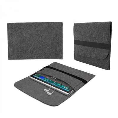 eFabrik Hülle für Microsoft Surface Book 2 / Microsoft Surface Book (13,5 Zoll) Tasche Schutz Cover Schutztasche Schutzhülle Sleeve Filz