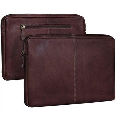 ROYALZ Ledertasche für Acer Chromebook R11 Lederhülle Tasche Schutztasche Schutzhülle Cover Sleeve Mappe Folio Retro Vintage Leder braun