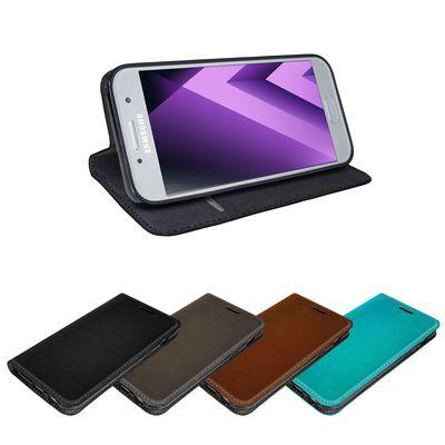 eFabrik Schutz Tasche für Samsung Galaxy A5 2017 Hülle ( SM-A520F | A520 ) Schutzhülle Cover Etui Schutztasche Schutz Book Case