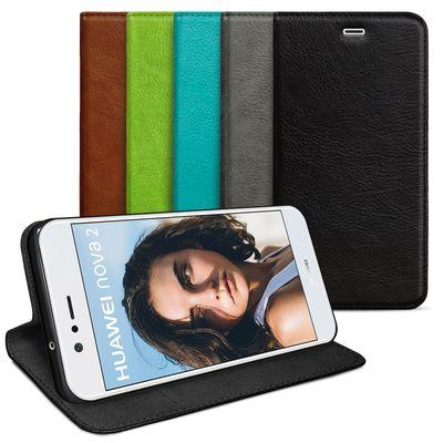 eFabrik Schutzhülle für Huawei Nova 2 Tasche Hülle Slim Cover Etui (für Nova 2 Dual-SIM) Schutztasche Schutz Book Case